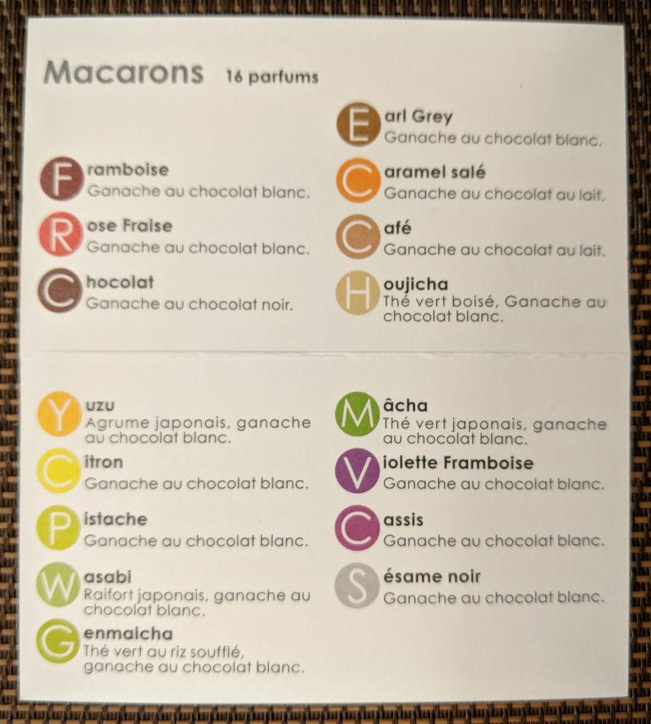 macarons-menu